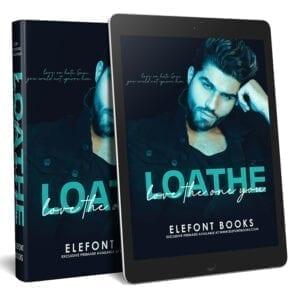Premade ebook cover for romance book