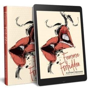 Premade illustrated ebook cover for F/F romance, chick-lit, or romantic suspense..